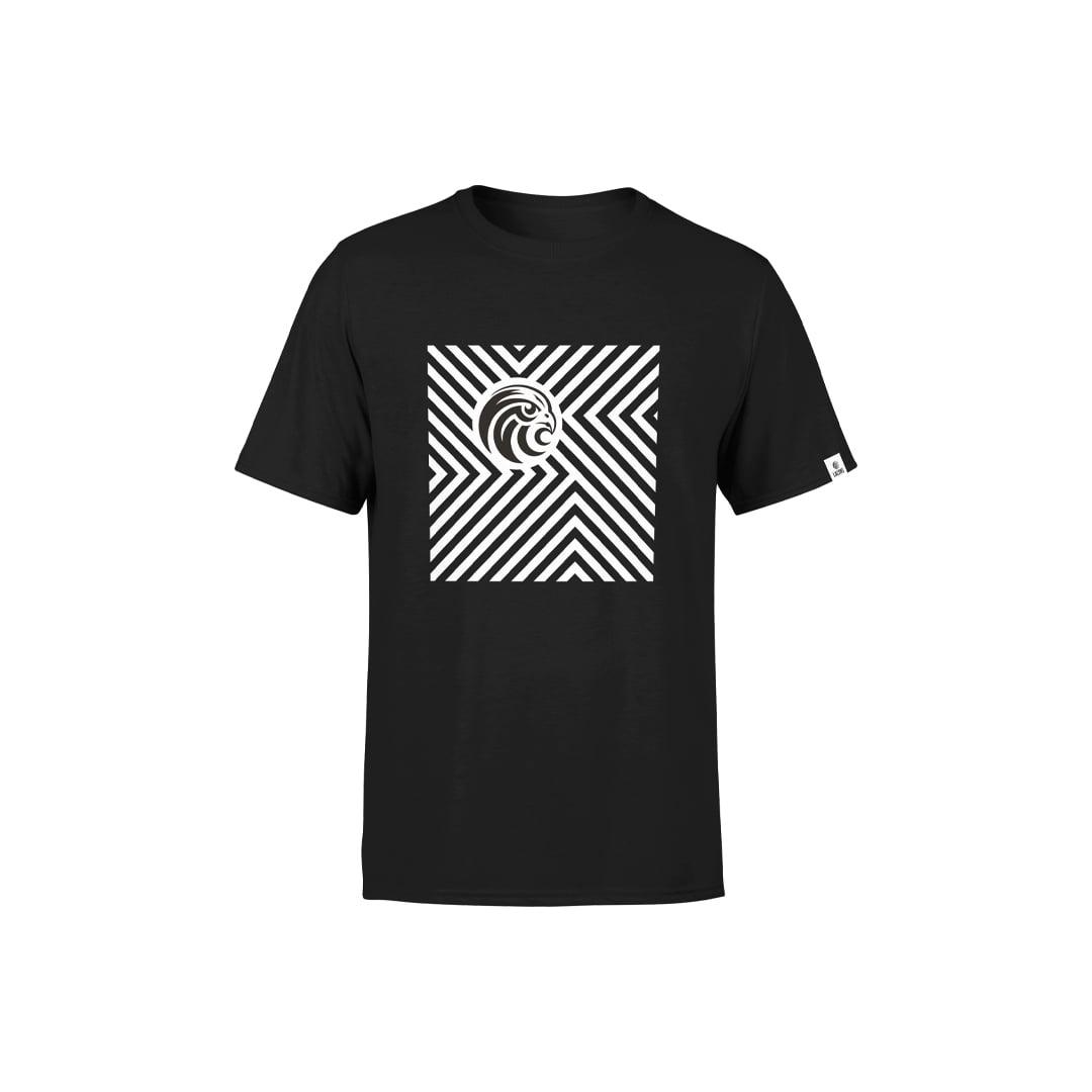 Chevron Black T-Shirt