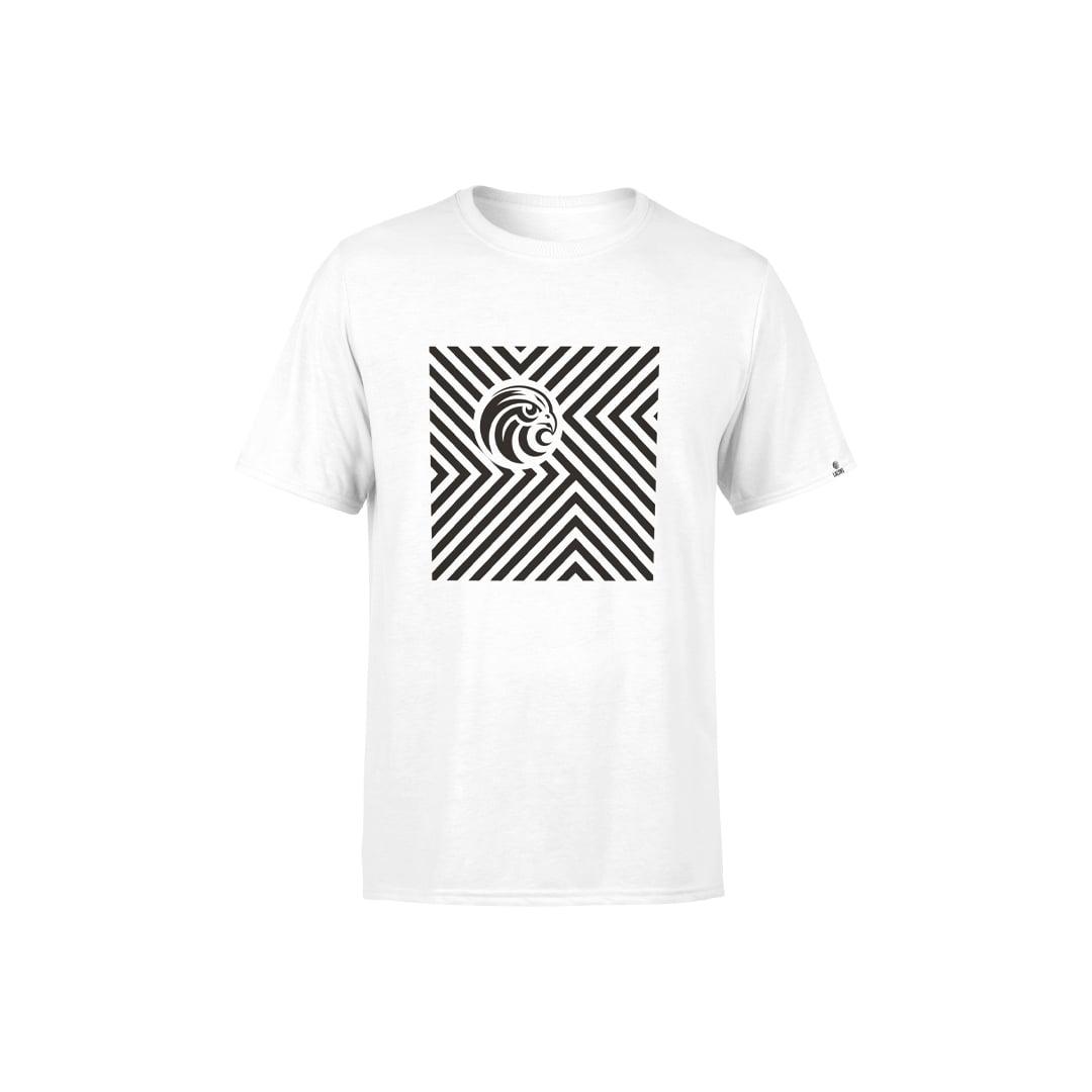 Chevron White T-Shirt