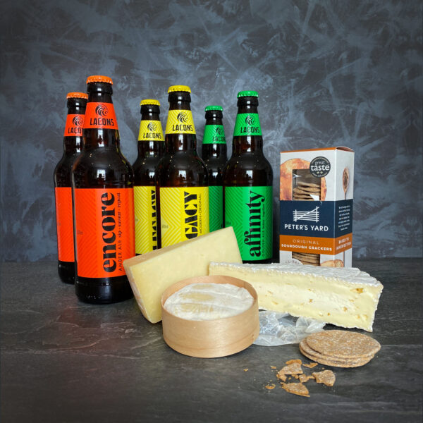 Deluxe Beer and Cheese Pairing Box
